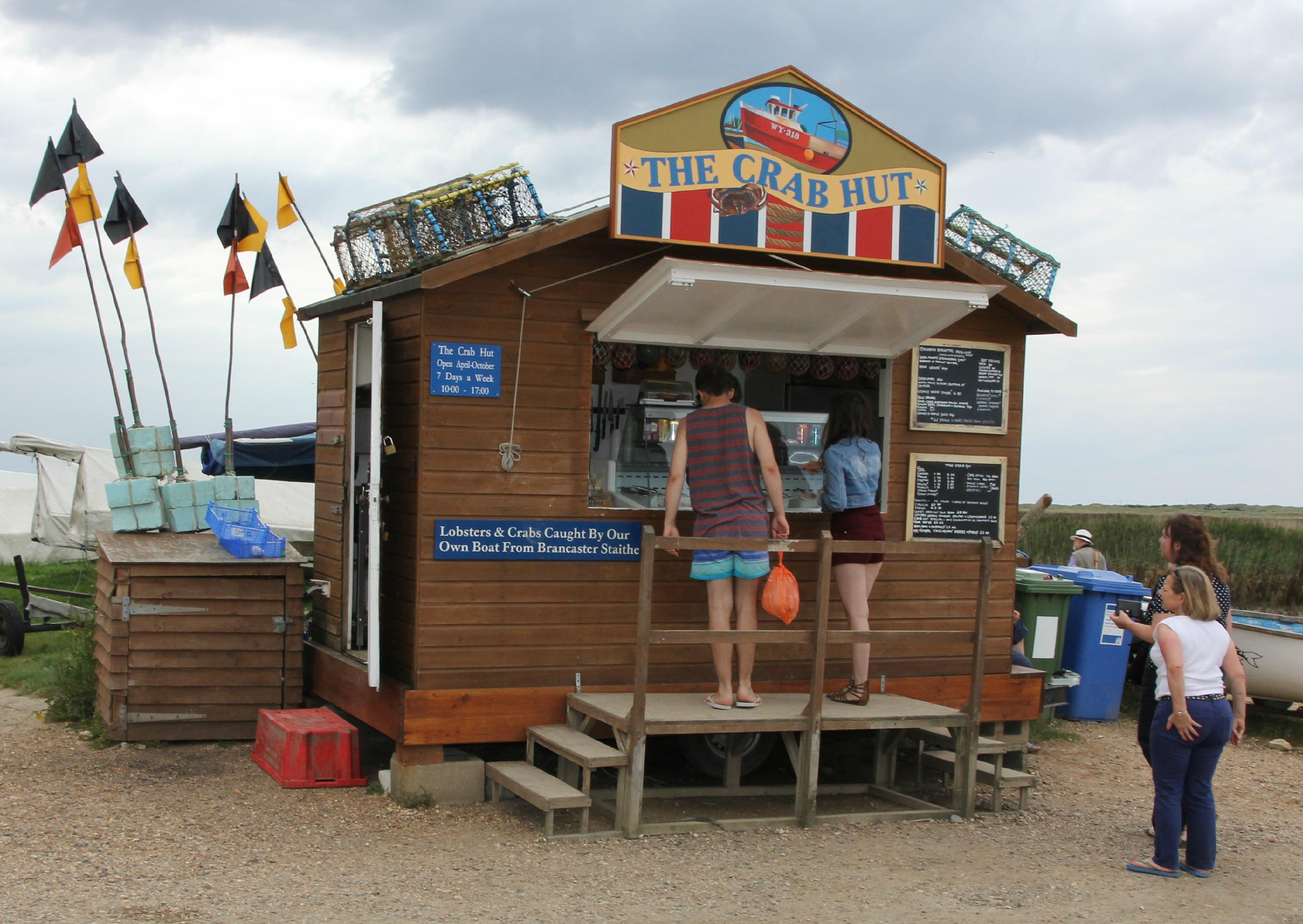 The Crab Hut Brancaster Staithe