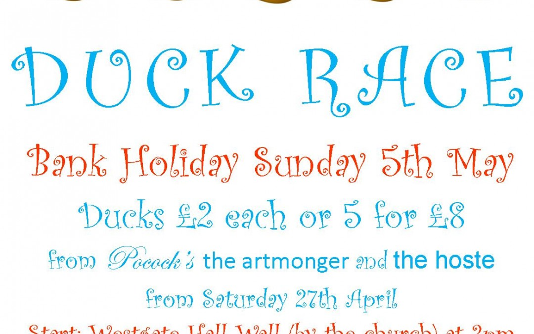 Burnham Market Duck Race