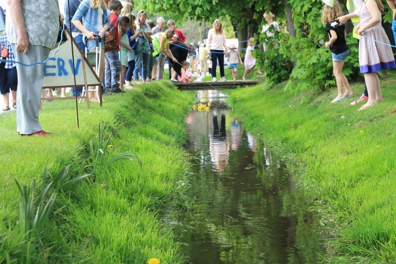 Burnham Market Duck Race a Big Success