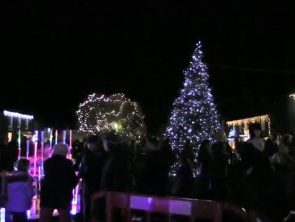 Burnham Market Christmas Lights Switch On 2013