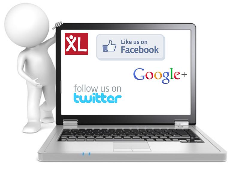 Facebook v Twitter v Google+
